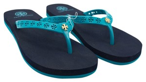 Tory Burch French Turq Sandals