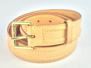 Louis Vuitton Louis Vuittion Vachetta Leather Belt