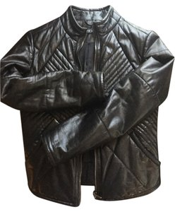 Andrew Marc Motorcycle Leather Jacket
