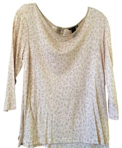 H&M Top Light pink/brown animal print