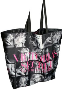 Victoria's Secret Victorias Vs Tote in pink,black,white