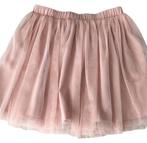 Urban Outfitters Mini Skirt Pale Peach