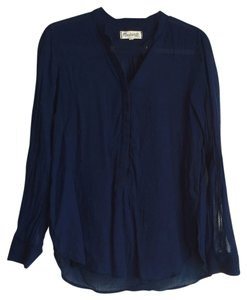 Madewell Button Down Shirt Indigo