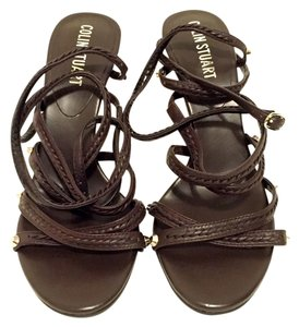 Colin Stuart Heels Heels Heels Heeled Strappy Heels Strappy Heels Stilletos Stilletos 7.5 7.5 Heels 7.5 7.5 brown Sandals