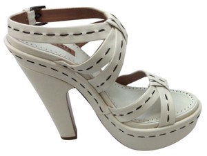 ALAÏA White Platforms
