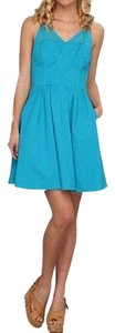 Jessica Simpson short dress Aqua on Tradesy
