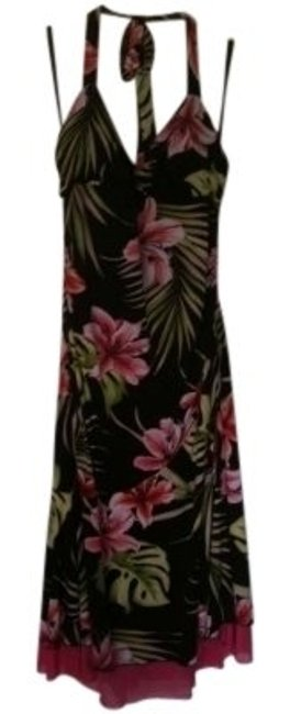 Preload https://item4.tradesy.com/images/xoxo-print-halter-jersey-knee-length-night-out-dress-size-12-l-128478-0-0.jpg?width=400&height=650