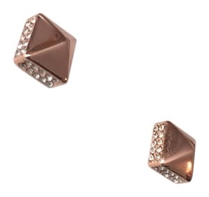Vince Camuto Vince Camuto Rose Pyramid Studs