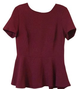 Divided by H&M Top Burgandy
