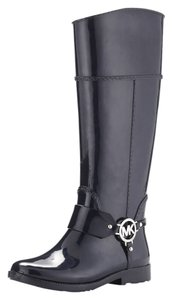 Michael Kors Fulton Harness blue Boots