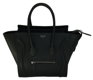 Cline Celine Mini Luggage Tote in Black