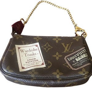 Louis Vuitton Louis Vuitton Limited Edition Trunks Mini Pochette