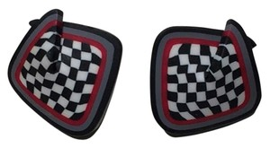 Other Black and White Checkered Post Earrings