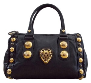 Gucci Satchel in Black/Gold