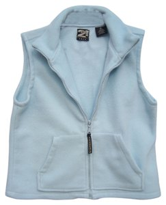 Rue 21 Fleece Zip Up Pockets Junior Vest