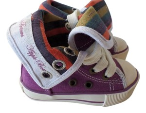 Apple Bottoms Sneakers High Top Purple, Multi color Athletic