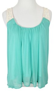 Jealous Tomato Top Mint & Cream