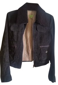 John Carlisle Dark Olive Leather Jacket