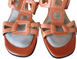 LifeStride Life Stride 7.5 M Orange Sandals