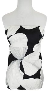 White House | Black Market #strapless #silk Top Floral