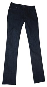 DL1961 26 Blue Dark Wash Straight Leg Jeans-Dark Rinse