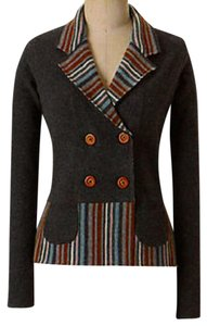 Anthropologie Sweater Jacket Tailored Lambswool Cardigan