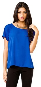 Forever 21 Essentials Top Cobalt