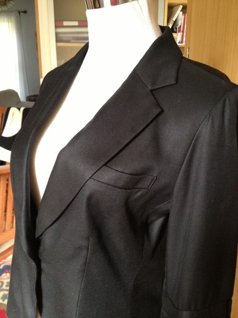 Foley + Corinna Jacket Silk Unique Vintage Black Blazer