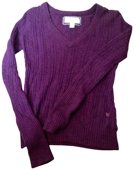 Preload https://item3.tradesy.com/images/american-eagle-outfitters-purple-sweaterpullover-size-8-m-128537-0-0.jpg?width=400&height=650