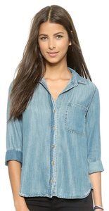 Bella Dahl Denim Button Down Button Down Shirt Chambray