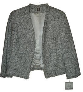 Anne Klein Blazer New Small Top Black and white