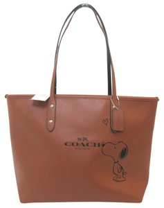 Coach Limited Edition Tote in Saddle Brown