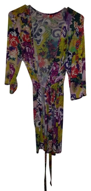 Item - Multicolor Colored Robe Activewear Top Size 12 (L, 32, 33)