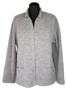 Eileen Fisher Soft Relaxed Fit Boiled Wool Cardigan