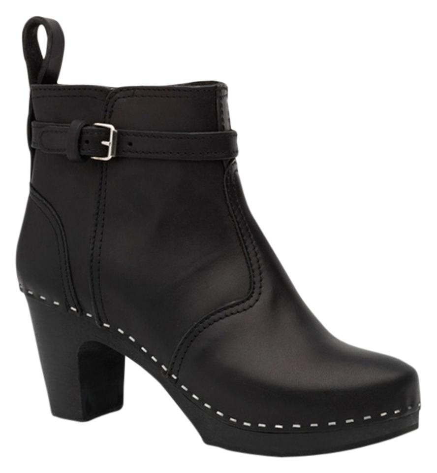 swedish Black hasbeens Black swedish On Black Jodhpur Boots/Booties 708228