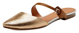 Sigerson Morrison Heidy Slides Flats Metallic rose gold Sandals
