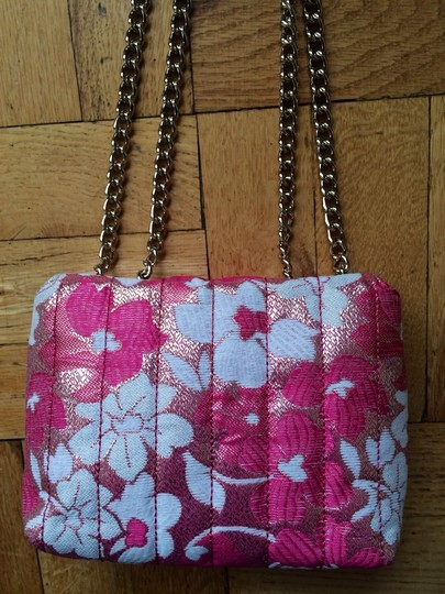 Kate Spade Chain Floral Quilted Mini Shoulder Bag