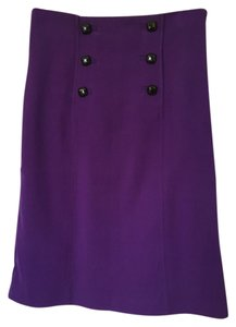 Banana Republic Skirt Purple