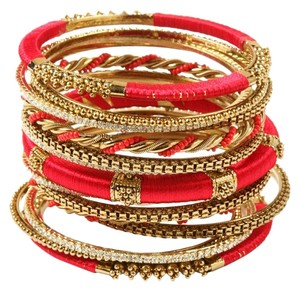 Amrita Singh Amrita Singh Rupal Bangle Set 8 Red