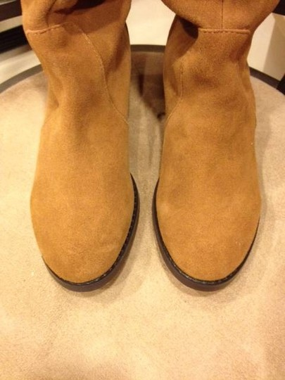 Other New Without Tags Genuine Suede Flannel Lining Chestnut Brown Boots