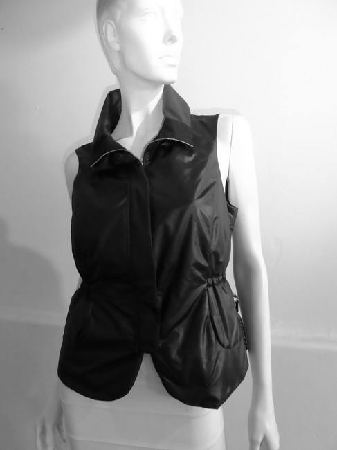 Brunello Cucinelli Stunning Fitted Vest 2 Pieces Seperates Black Jacket