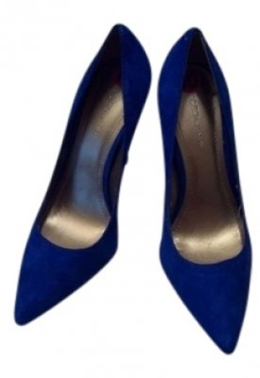 Preload https://img-static.tradesy.com/item/128568/bcbgeneration-blue-suede-pointed-pumps-size-us-10-0-0-540-540.jpg