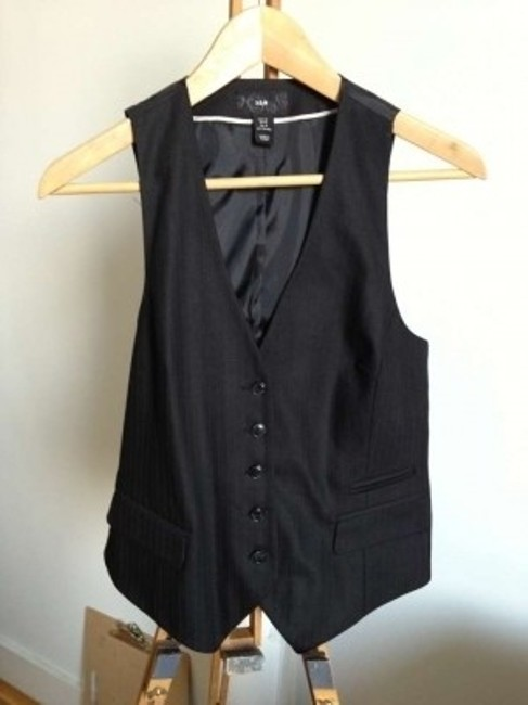 H&M Button Down Shirt Black
