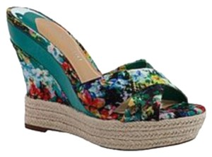 Gianni Bini Blue Multi Wedges