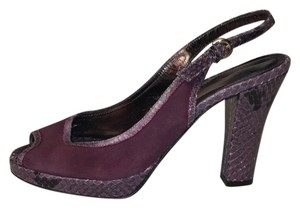 Coach Purple Platforms