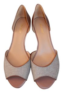 Nine West tan and brown Wedges