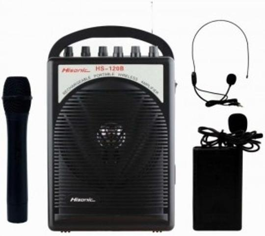 Preload https://item5.tradesy.com/images/black-portable-wireless-mic-and-amplifier-128589-0-0.jpg?width=440&height=440