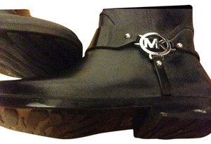 Michael Kors Black with silver Boots