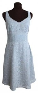 Odille short dress blue Eyelet Ice Pastel on Tradesy