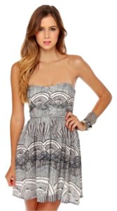 O'Neill short dress Black, grey on Tradesy